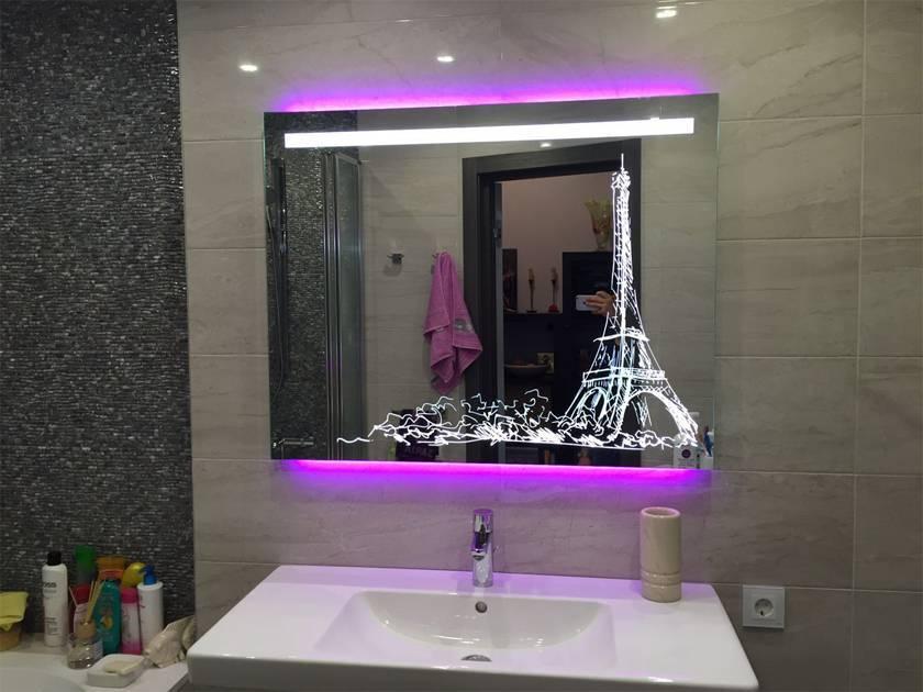 Советы по выбору круглого зеркала в ванную комнату с подсветкой