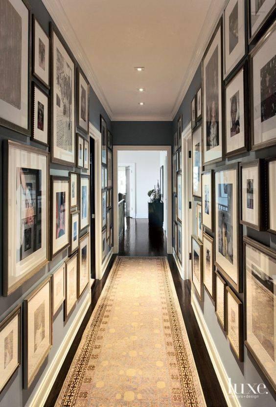 Коридор (113 фото): красивый дизайн интерьера в квартире с картинами, реальное оформление декора