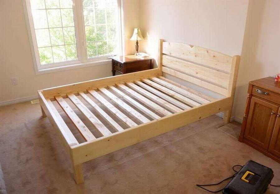 Как сделать кровать своими руками - от проектирования до реализации (100 фото)
