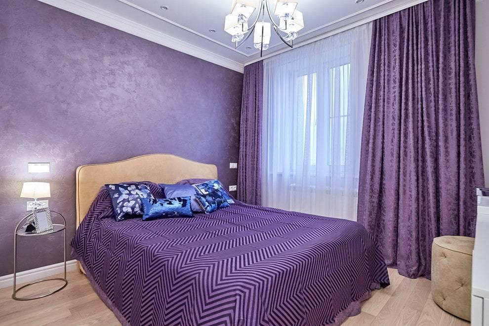 Оформление спальни в синем цвете: подбор стильных решений