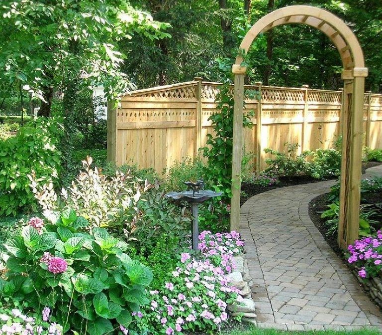 Садовые арки своими руками: фото и идеи дизайна