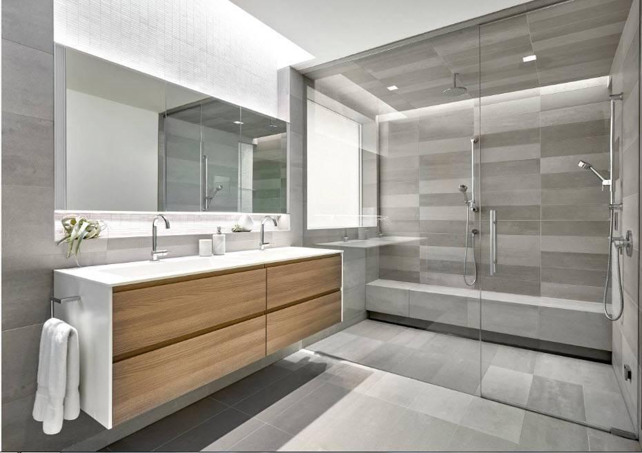 Современная ванная комната: 95 фото лучших идей дизайна 2019 года