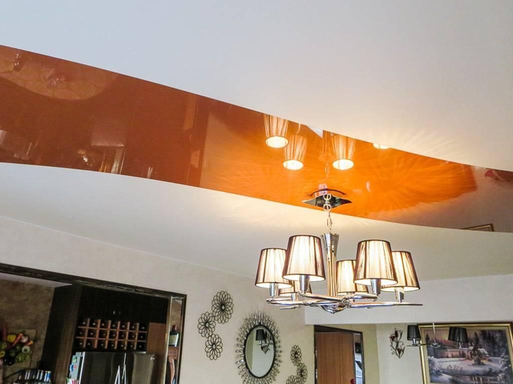 Матовые натяжные потолки для зала: виды, выбор, примеры