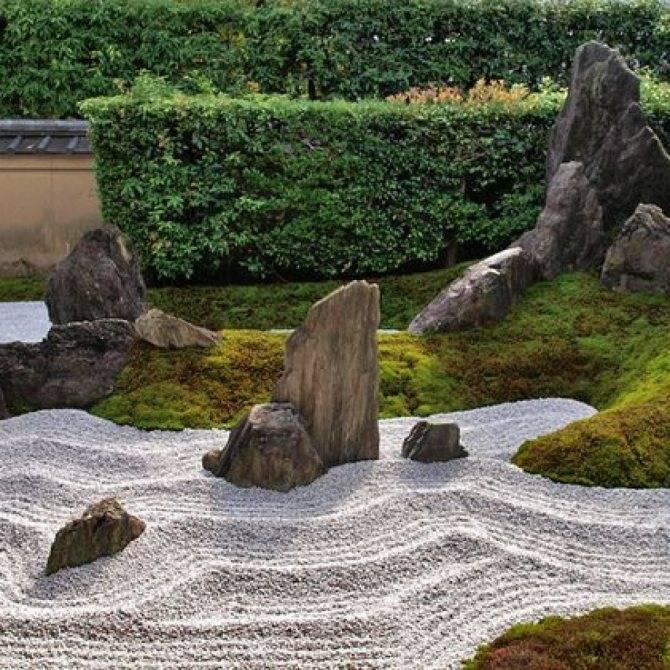 Сад камней своими руками: 50 фото примеров японской композиции