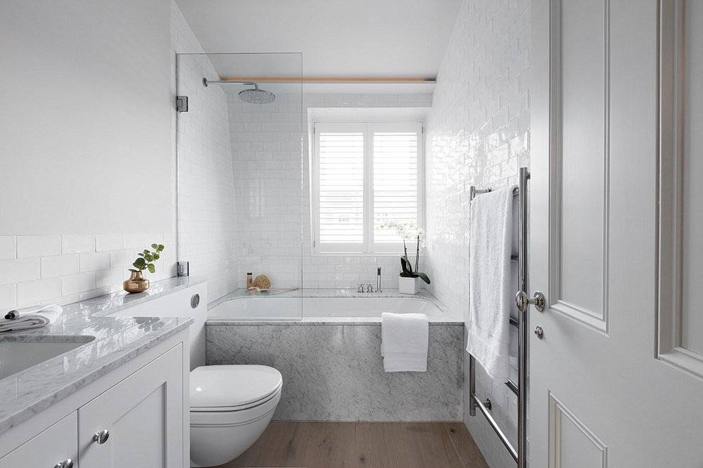 Белая ванная комната: 60+ фото, современные идеи дизайна