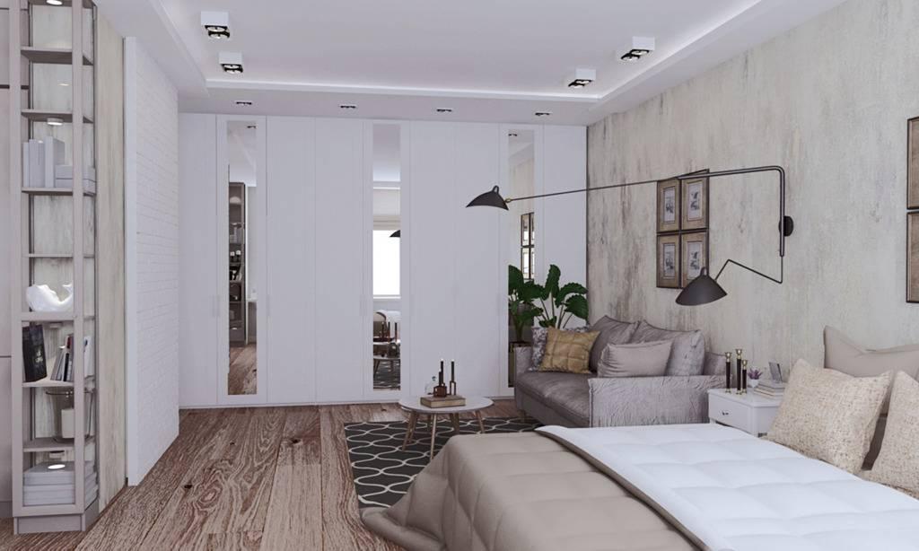 Три квартиры 40 кв. м. с современным дизайном