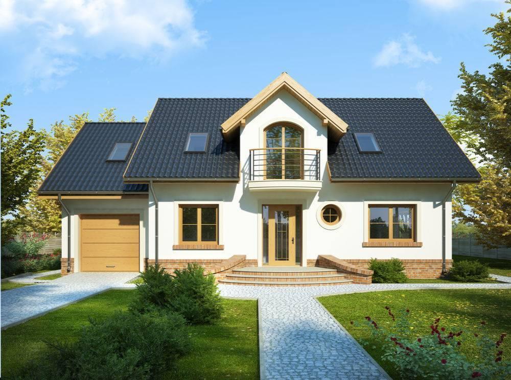 Дом с мансардой в разрезе. разновидности конструкций мансардных крыш. использование аттиковых стен