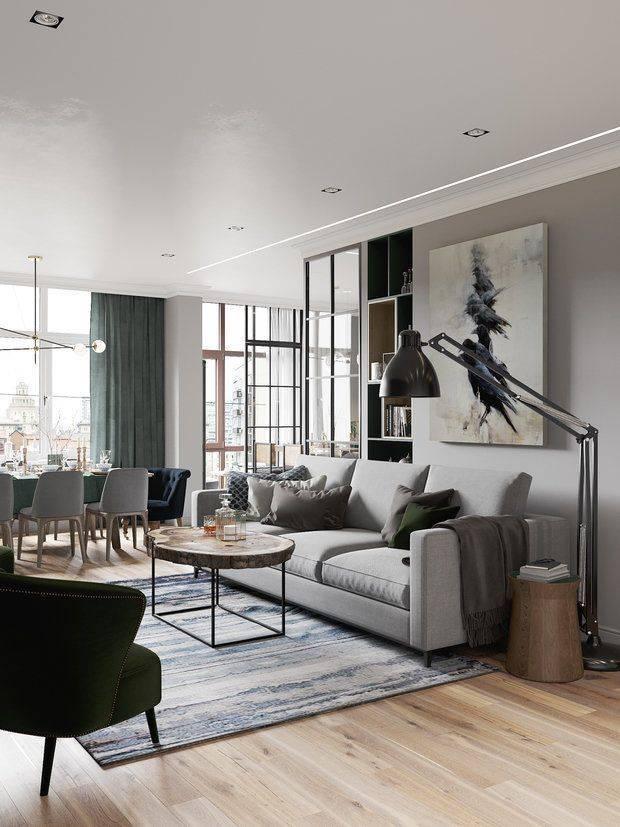 Стиль контемпорари в интерьере квартиры: фото и креативные идеи