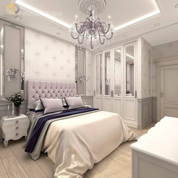 Оформление спальни в стиле неоклассика