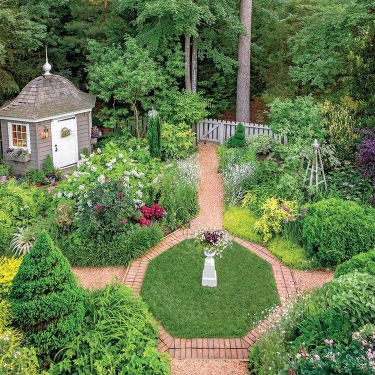 Неповторимый ландшафтный дизайн английского сада