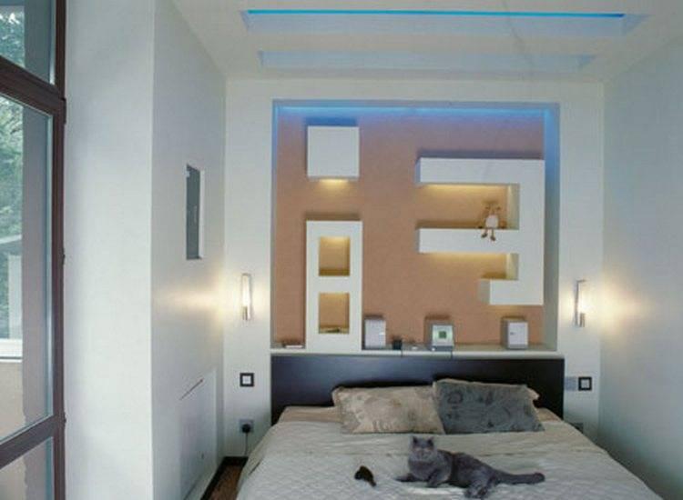 Ниша в стене из гипсокартона: как сделать и оформить + 100 фото в интерьере
