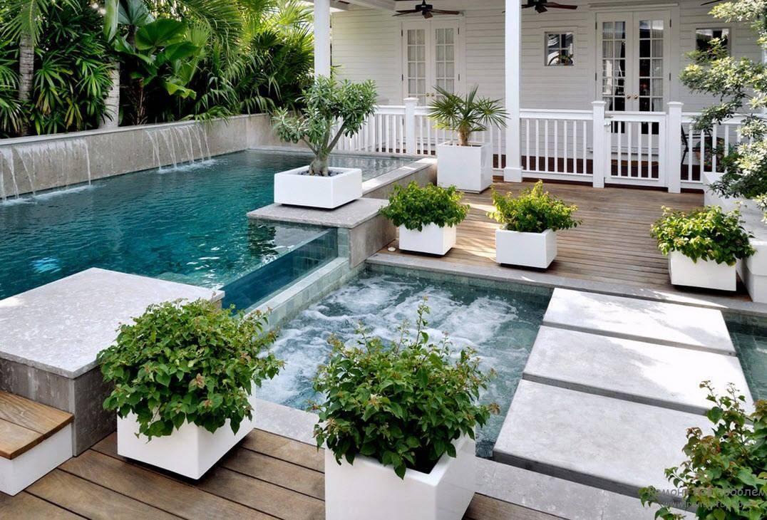 Бассейн своими руками во дворе частного дома дешево и быстро, и очень просто: идеи с фото пошагово