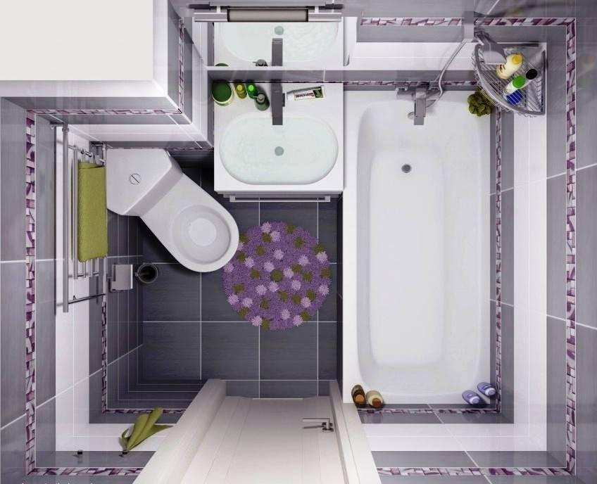 Ванная комната 6 кв. м.: варианты интерьера и практичные идеи оформления небольшой ванной комнаты (видео и 95 фото)