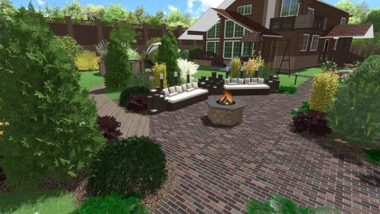 Дизайн участка загородного дома на 10 сотках особенности и этапы планировки