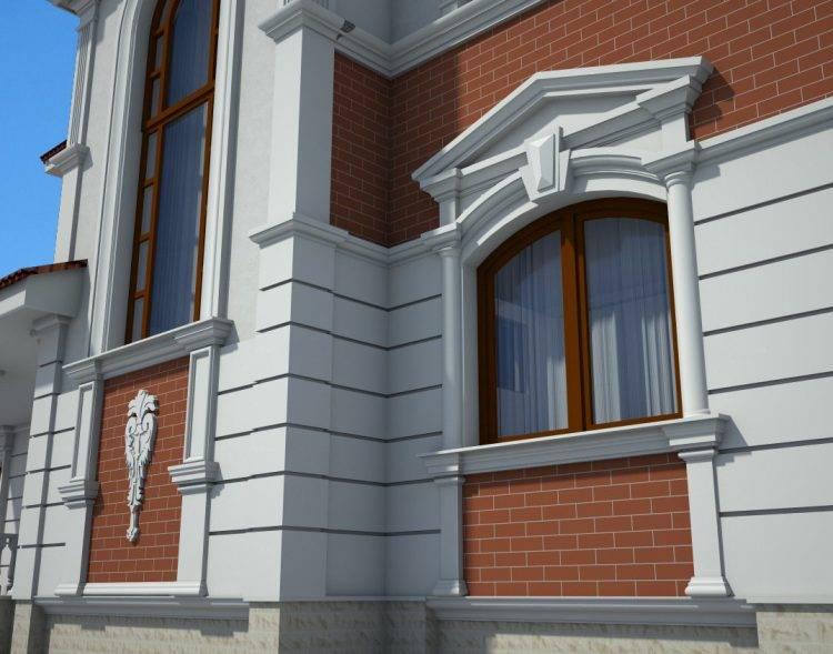 Материалы изготовления декоративных элементов для фасадов