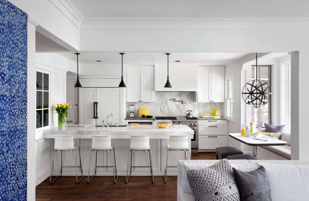 Белые глянцевые кухни: секреты гармоничного оформления и 80+ фото вдохновляющих интерьеров