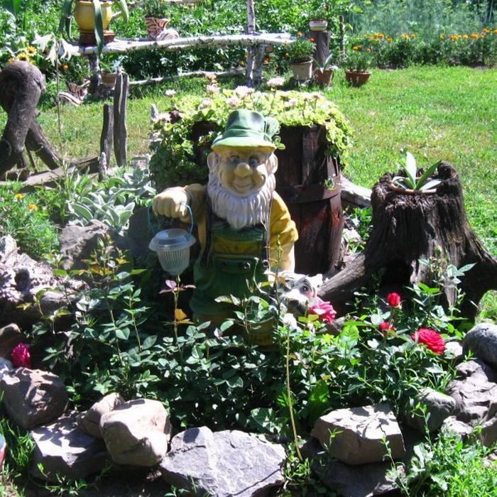 Садовые скульптуры: оригинальные идеи украшения и варианты применения скульптур разных размеров