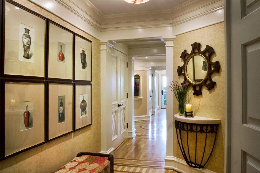 Каким может быть дизайн коридора?