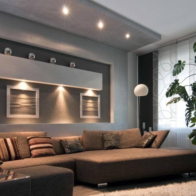 Сатиновые натяжные потолки: плюсы и минусы, виды, цвета, дизайн, освещение, фото в интерьере
