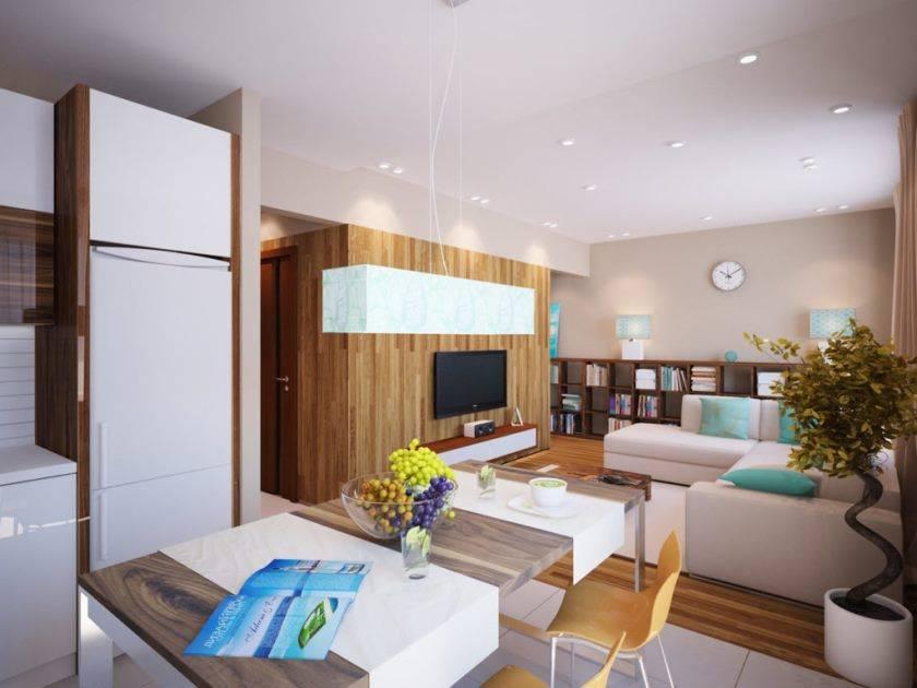 Способы зонирования кухни и гостиной