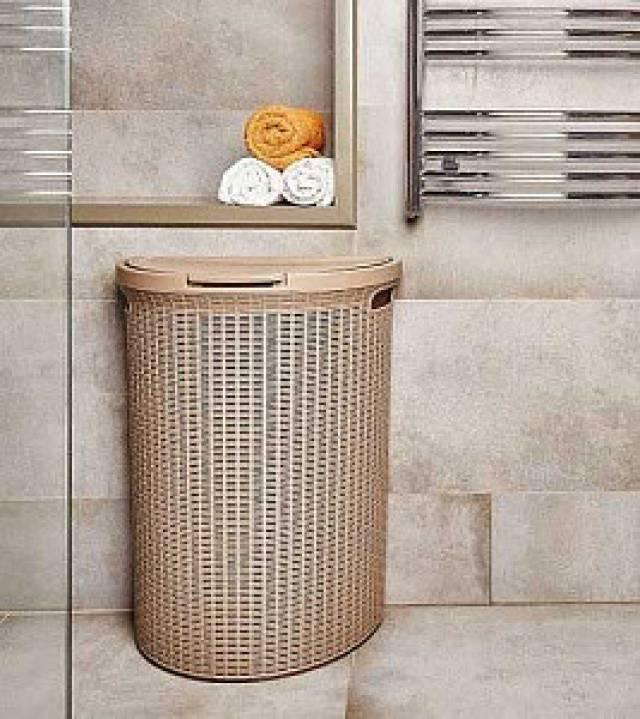Корзины для белья в ванную: как выбрать и сделать своими руками | ремонт и дизайн ванной комнаты