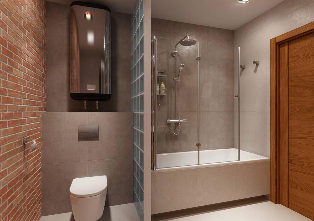 Дизайн ванной комнаты с душевой кабиной (115 фото): оформление маленькой ванны с душем, дизайн интерьера ванной со стиральной машиной в частном доме
