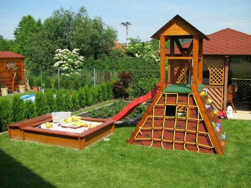 Детская площадка (114 фото): игровые уголки для детей, современные проекты и интересные идеи, дизайн-проект для частного дома
