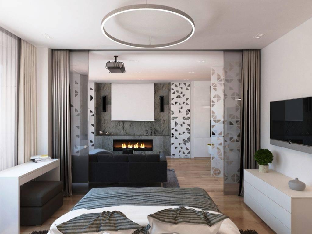 Обзор того какой может быть гостиная спальня 18 квадратов дизайн фото