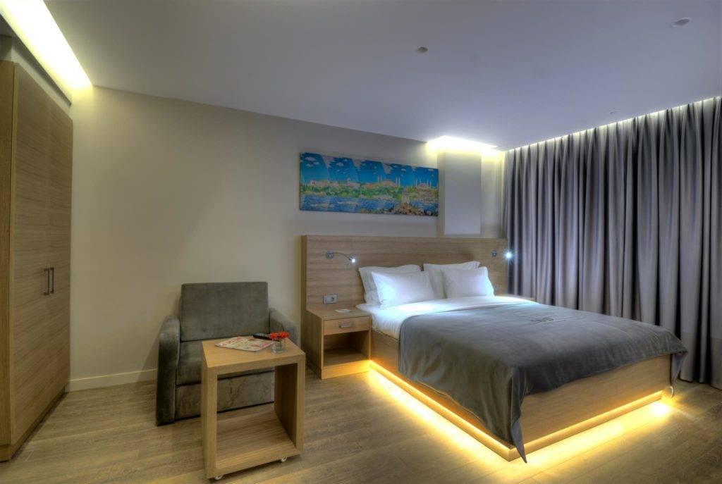 Оптимальное освещение в спальне