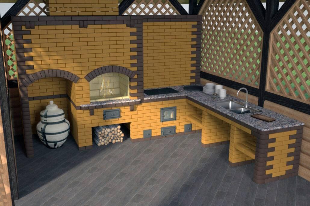 Беседка с барбекю: особенности строительства и оформления