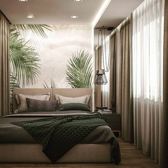 Интерьер длинной узкой комнаты - 52 фото идеи