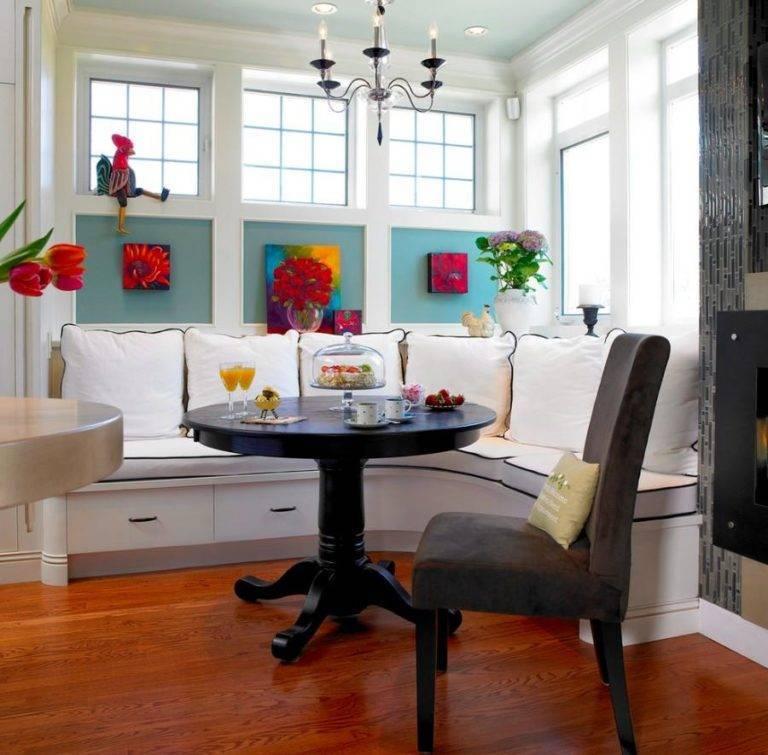 Интерьер и дизайн обеденной зоны   30 идей для кухни и гостиной