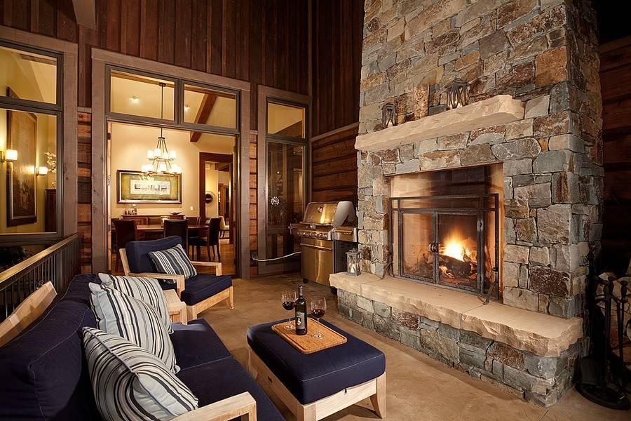 Гостиная с камином - разнообразие вариантов для создания уютного современного интерьера своими руками
