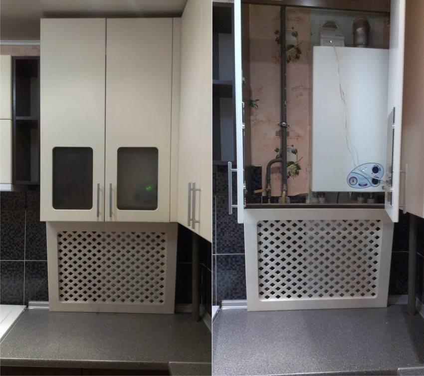 Идеи дизайна кухни с котлом индивидуального отопления