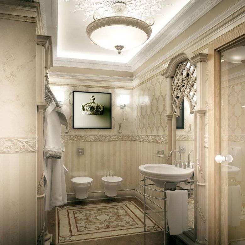 Красивые ванные комнаты в классическом стиле: 40+ фото