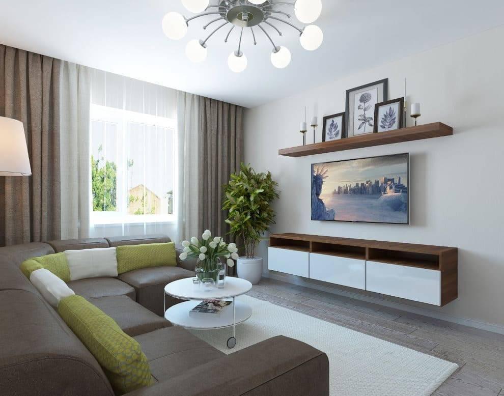 Зал 18 кв. м.: подбор интерьера комнаты для создания домашнего уюта и комфорта (125 фото) – строительный портал – strojka-gid.ru