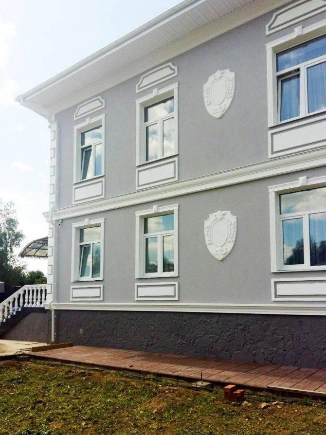 Материалы и технологии для декора фасада дома