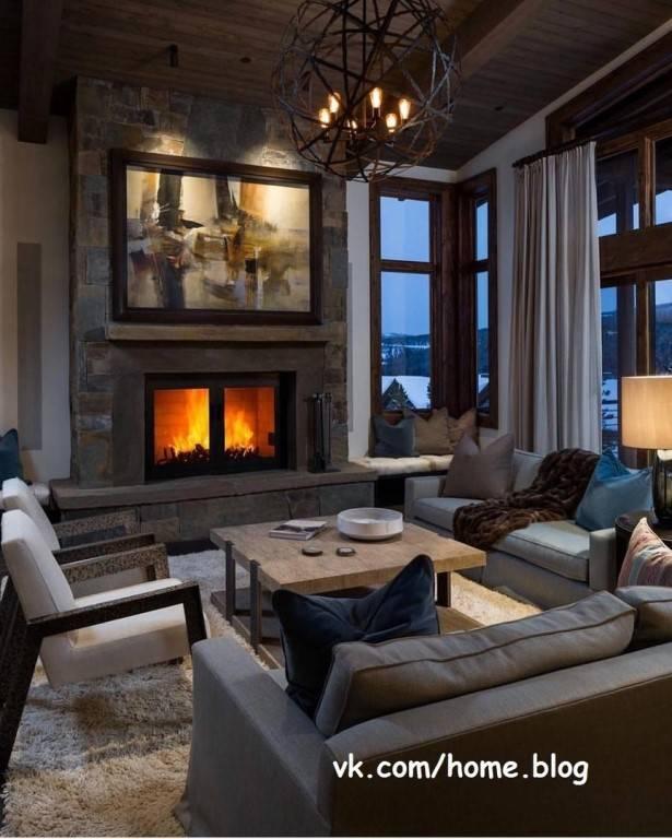 Как оформить квартиру в стиле шале?