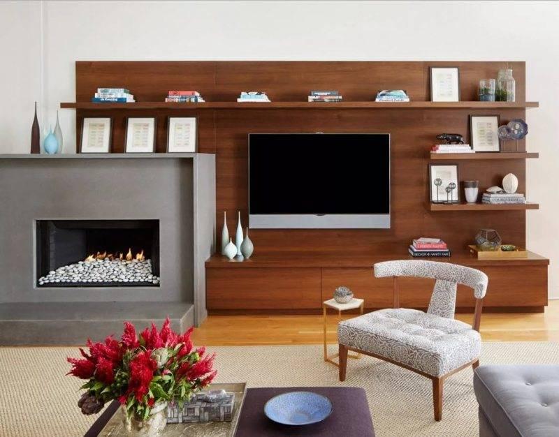 Дизайн зала в частном доме: рассмотрим основательно