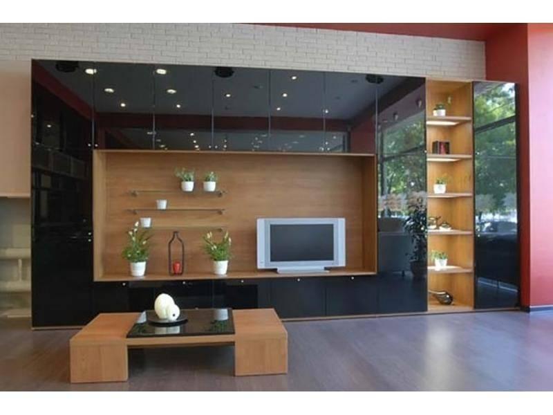 Стенка в гостиную (зал): 60+ фото, современные идеи дизайна