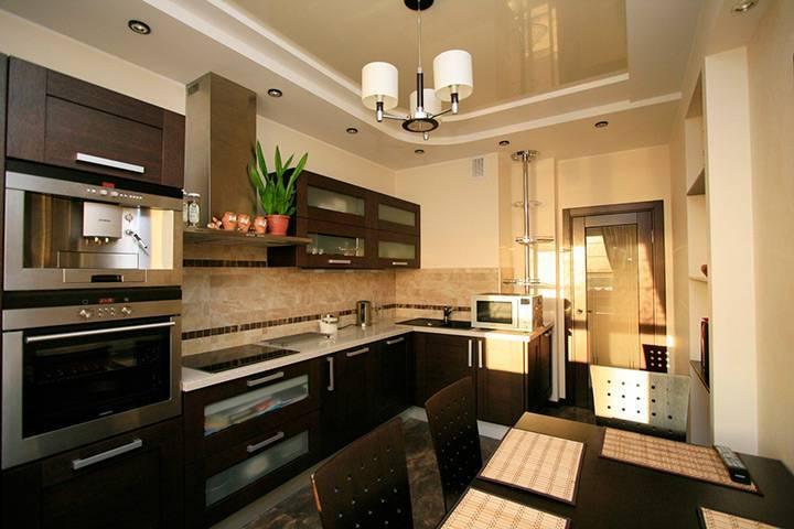 75 вариантов дизайна кухни с вентиляционным коробом при входе