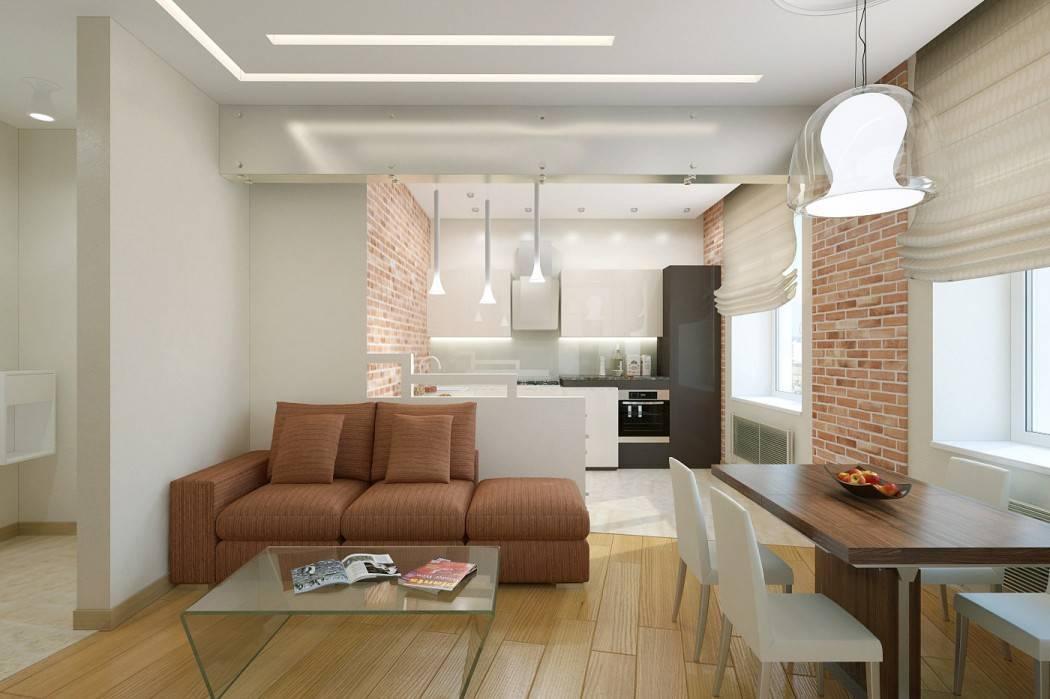 Дизайн кухни-гостиной 18 квадратов: 75 идей оформления интерьера