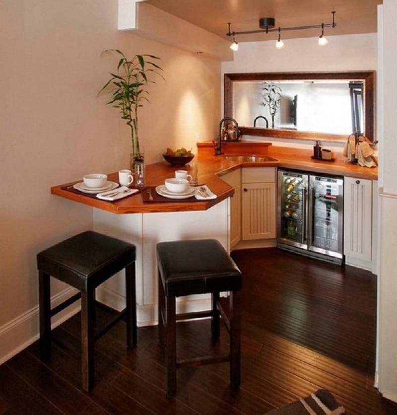Все секреты интерьера маленькой кухни