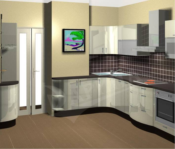 Главные правила планирования кухни с выступом - вентиляционным коробом | okuhnevse.ru