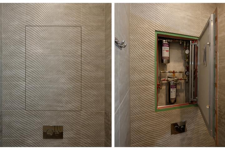 Двери на сантехнический шкаф в туалете – какие выбрать интерьер и дизайн