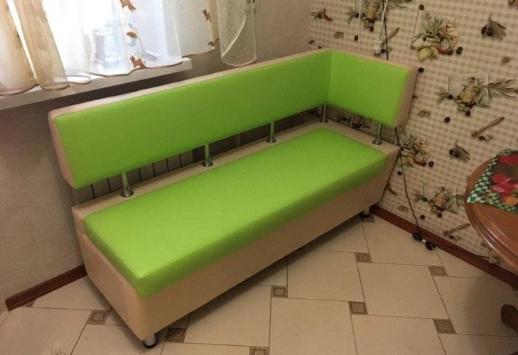 Прямой кухонный диван: преимущества и недостатки, полезные советы по выбору