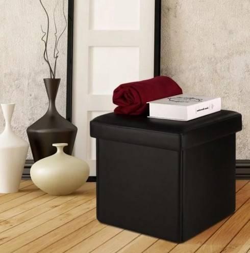 Пуфик в прихожую с ящиком для обуви: пуф для хранения нужных вещей в коридоре с подставкой и полкой