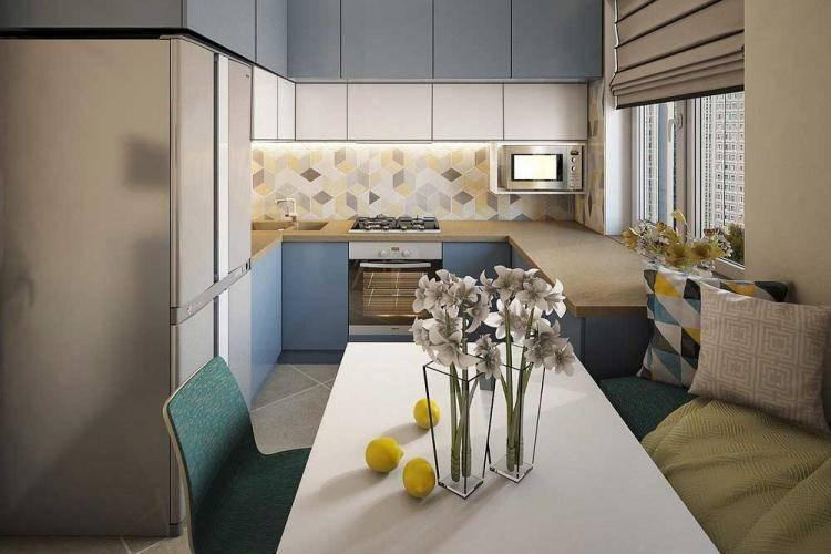 Дизайн кухни 13 кв. м (66 фото): идеи для планировки кухни 13 квадратных метров с балконом и без, интерьер кухни-спальни 13 квадратов и другие проекты