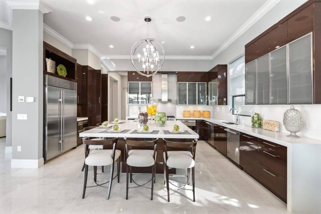 Как оформить кухню в современном стиле: реальные фото примеры