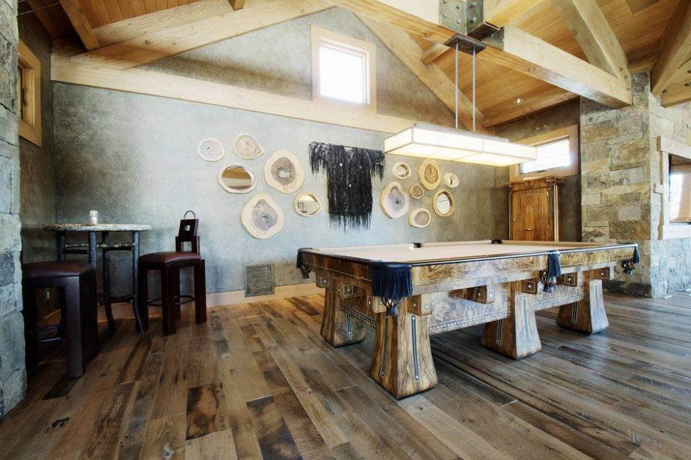Старые доски в интерьере: выразительное окружение с винтажным характером - «декор»